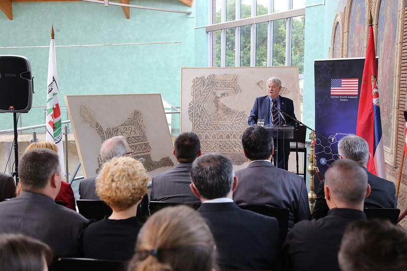 Mercury Mosaic Unveiling