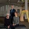 2016 Research Report portrait - Danny Goodwin, Janet Riker, Corinna Ripps Schaming.  Photo by Paul Miller