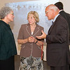 "August 2013 - Congressman Paul D. Tonko chats with UAlbany Art Museum Director Janet Riker and College of Arts and Sciences Dean Edelgard Wulfert during the American Association of Museum's ""Invite Congress to YOur Museum Week.""<br /> Photographer: Mark Schmidt"