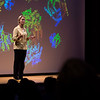 "2018 Nobel Prize Winner Frances Arnold, Ph.D., delivers a lecture titled ""Innovation by Evolution: Expanding the Enzyme Universe"", as part of the  Life at the Science Engineering Interface Endowed Lecture Series at the Performing Arts Center at the University at Albany on Tuesday, October 16, 2018. (photo by Patrick Dodson)"