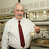 University at Albany chemistry professor Eric Block has made signifcant research contributions to organosulfur, organoselenium and food chemistry, particularly onion and garlic (Allium) chemistry, and the physiological effects of organosulfur compounds, including olfaction Photographer: Mark Schmidt