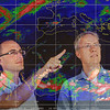 UAlbany atmospheric scientists Chris Thorncroft and Ryan Torn are working to improve knowledge and understanding of African Easterly Waves (AEWs) and their relevance to a range of applications vitally important for West African nations, including hydrology and flood prediction, agriculture and crop prediction, and malaria risk assessments.  Photographer: Mark Schmidt