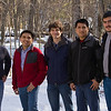 Assistant Professor Mathias Vuille's research focuses on how a changing climate will affect tropical glaciers and water resources. Vuille has participated in more than a dozen field trips to the Andes and Kilimanjaro. He is pictured here with graduate students from South America. Photographer: Paul Miller
