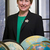 Dr. Johnson's research has focused on upper atmospheric and lower thermospheric dynamics in high latitude regions, with an emphasis on space weather and solar terrestrial coupling. Since 1995 she has been very active in education and outreach programs. Photographer: Paul Miller