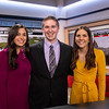 Feb. 28, 2020 - Interns Christina Talamo and Allison Finch at WNYT CH 13