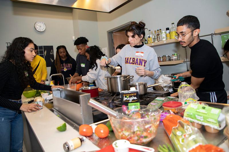 LACS decolonizing food workshop at HWFC