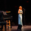 Alumna and Broadway star Carolee Carmello performs at the PAC during Celebrate and Advance UAlbany week.   Photographer: Mark Schmidt