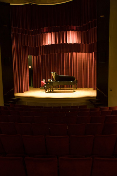 Students perform their musical pieces including singing and playing the piano. Photographer: P. Scott Barrow 2008