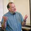 Students learn about music in D Janower's honors class. Photographer: P. Scott Barrow 2008