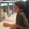 A Consortium student studies liquid chromatography.