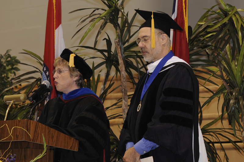 Dr. Nancy Blattner and Dr. Jason Sommer
