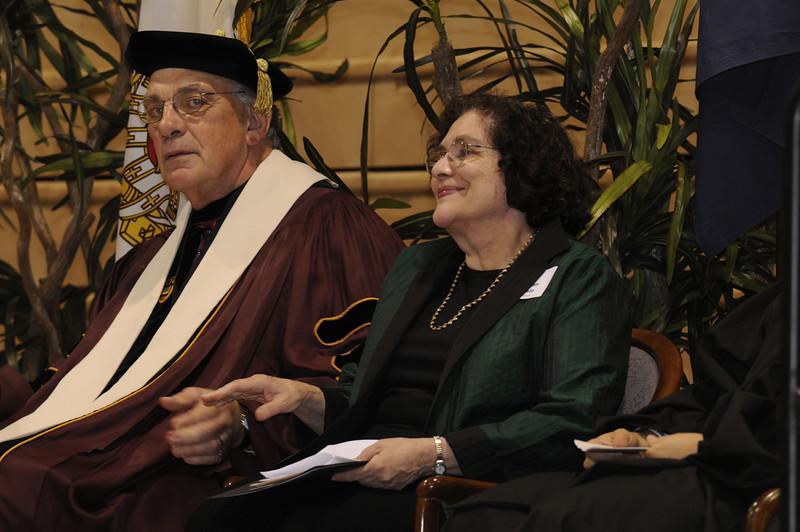 Dr. Dennis Golden and Batya Abramson-Goldstein.
