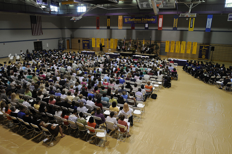 Fontbonne Students at the 2008 Convocation Ceremony.