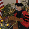 Convocation speaker, Dr. Ada Maria Isasi-Diaz, speaks to the Convocation Ceremony audience.