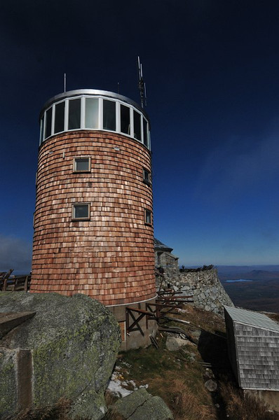 UAlbany's Atmospheric Science Research Center operates Whiteface Mountain Summit Observatory since 1961 Photographer: Richard Brandt