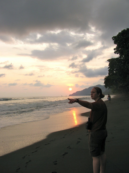 BEach sunset Hilary