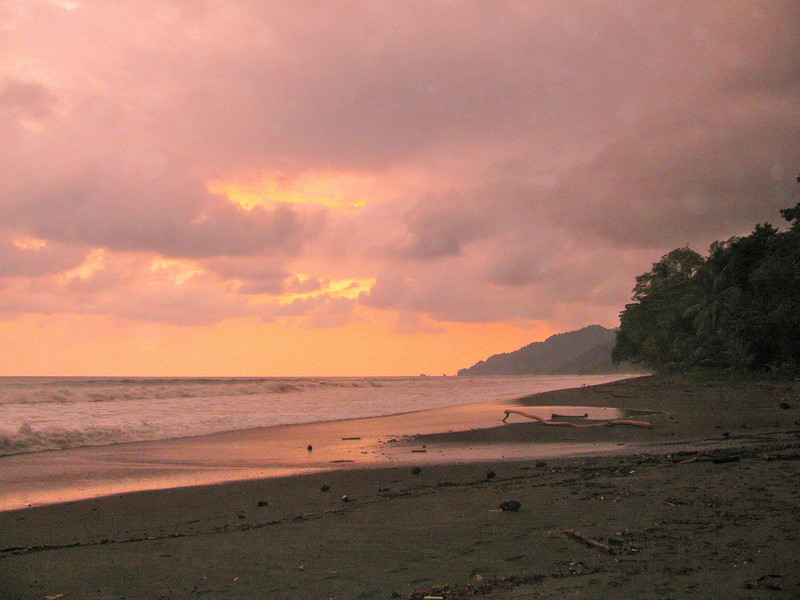 Corcovado Sunset