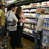 Students receiving product tour at Whole Foods.