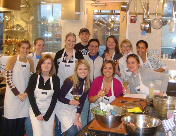 Students and instructor Almut Stephen-Marino at Viking Institute