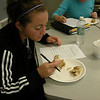 Students conducting taste testing