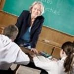 Teacher Infront of Classroom