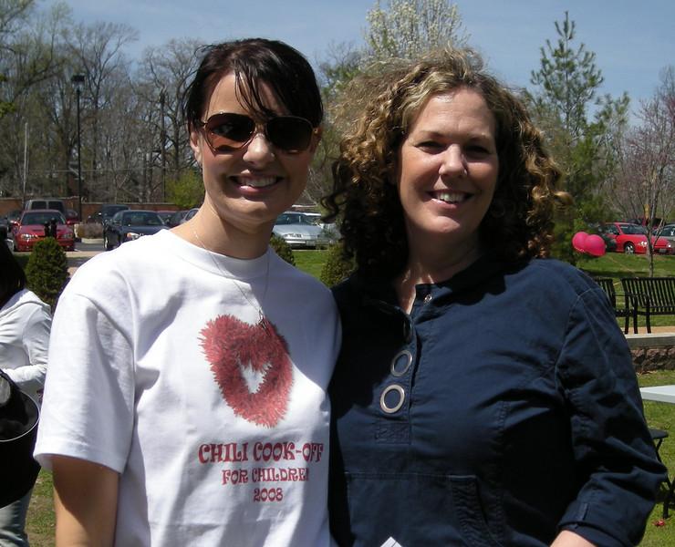 Sarah Huisman and Patti Durkin - EC