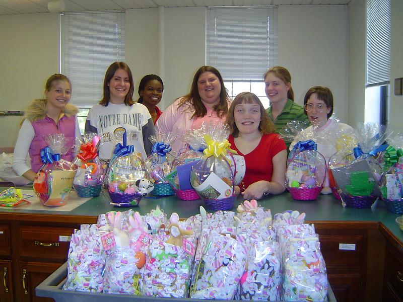 SHESA Easter Basket Drive