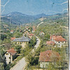 Page from a travel book depicting the village of Kozarac as it appeared prior to 1992.