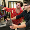 Marvin Rodriguez, a SUNY Oneonta student working with Biology Assistant Prof. Annalisa Scimemi. This is part of the SUNY 'BRAIN' grant program, which is funding 3 students to conduct internships at UAlbany this summer.