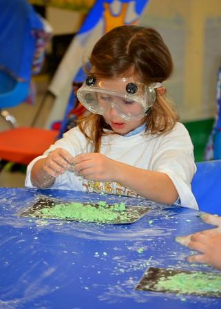 Kindergarten Students Create Oobleck!