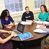 Rockefeller College students in classrooms