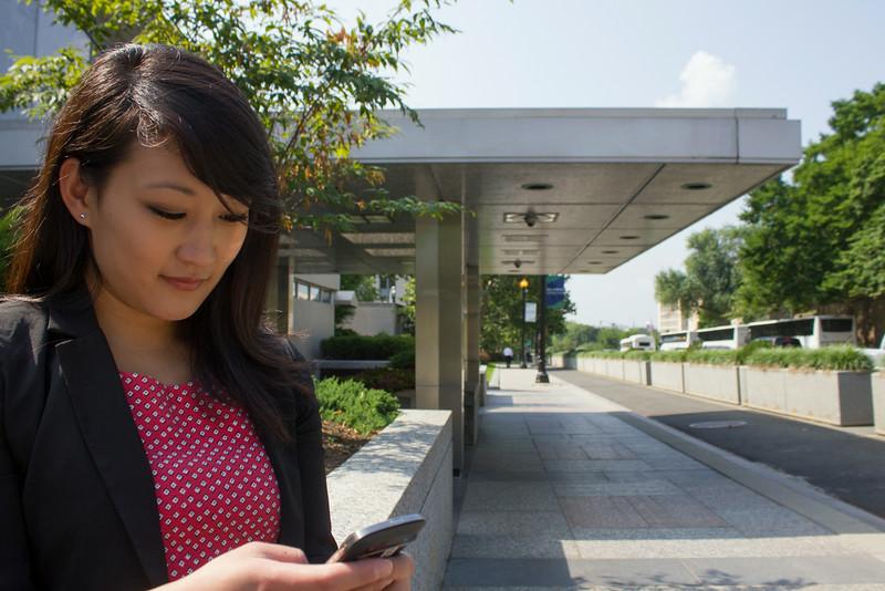 Rockefeller College alumna Tina Chang