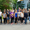 2015  Weekend MBA cohort members prepare to depart for Peru.  Photographer: Paul Miller