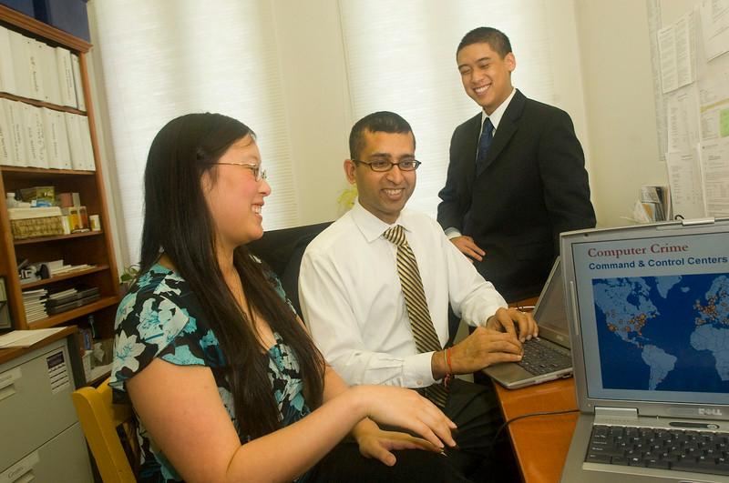 Professor Sanjay Goel develops cyber security measures to thwart computer crime.