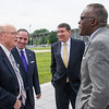 Images from the School of Business Ribbon-Cutting event. Photographer: Mark Schimdt
