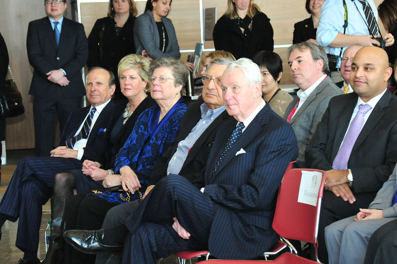 Press conference at East Campus with several local and state dignitaries, our Foundation Board, the president, and several high-level employees from Fruitura Bioscience.  Photos: Mark Schmidt