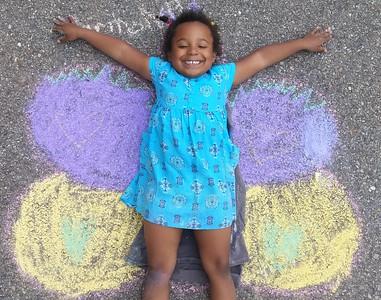 Symmetrical Butterfly Wings in Kindergarten
