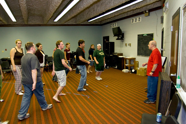 """Rehearsal for """"Once Upon a Mattress"""" (Nov. '08)"""