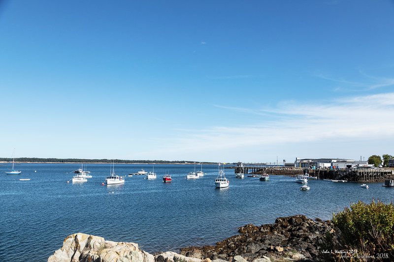 Marina on the Schoodic Peninsula