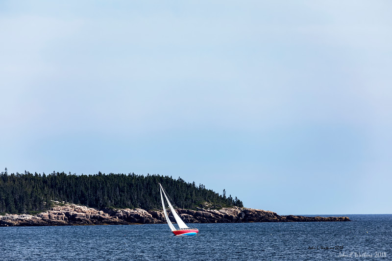 Good Sailing on the Schoodic Side