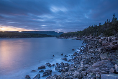 Otter Cove After Sunset