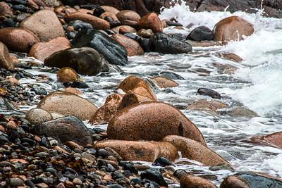 Boulders on Hunter Beach