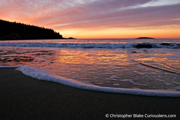 Sand Beach - Acadia NP