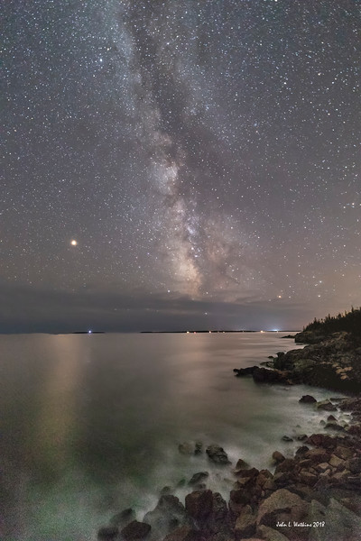 Milky Way at the Acadia Coast