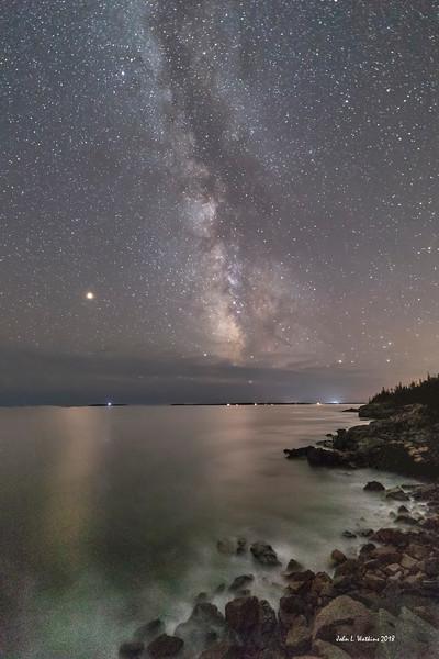 Milky Way at the Acadia Coast