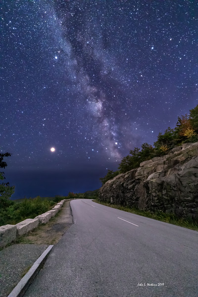 Road to the Stars in Acadia National Park