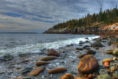 Hunters Beach in Acadia
