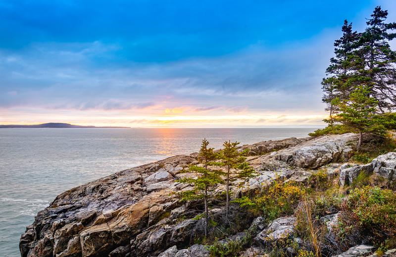 Sunrise at Schooner Point