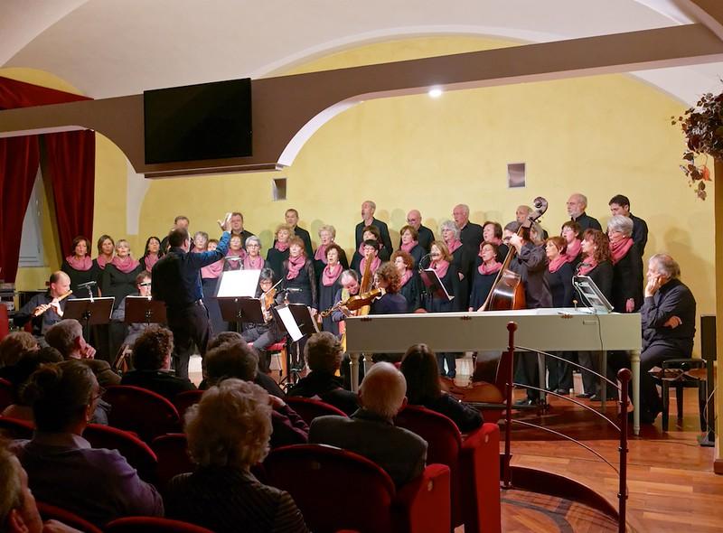 Marco Robino, il Quintetto Architorti, Tuatha dé Danann, Walter Gatti e il Coro dell'Accademia