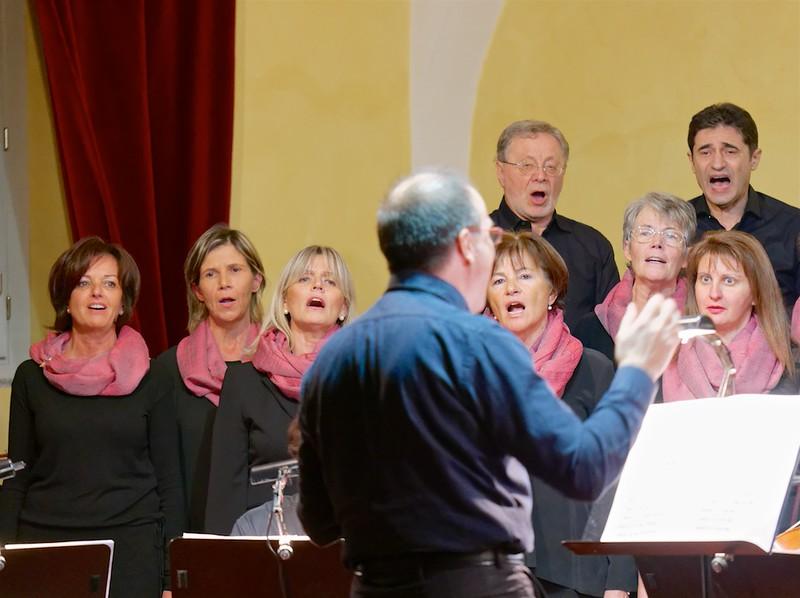Marco Robino e il Coro dell'Accademia